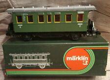MARKLIN 5801 G GAUGE 1 Peronenwagon 2nd CLASS COACH BOXED mu