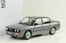 1986 BMW E28 M M535i Gray Metallic 1:18 NOREV 183261