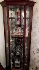 Glass Wooden Cabinet