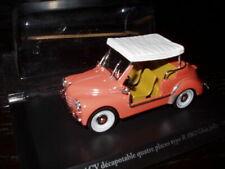 4CV5A Voiture 1/43 ELIGOR hachette renault 4CV décapotable ghia jolly 1961 R1062