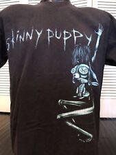 VTG Skinny Puppy Tour Shirt Sz L Alt Rock Chili Punk Metal NIN Hole Sonic Janes