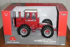 MASSEY FERGUSON 1805 TRACTOR DUAL WHEELS FRONT AND REAR DIECAST SCALE 1/32 NEW