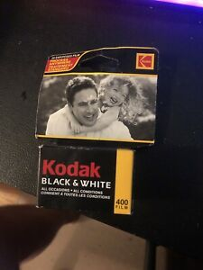 Kodak 35mm 400 Black & White Fine-Grain Film 24-Exp 2005 C-41