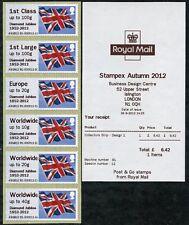 Otoño stampex 2012 hytech Bandera Jubileo de Diamante Tira De Colector/6 Post & Go