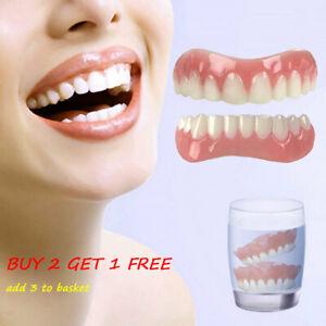 Veneers False Teeth Snap On Instant Smile Veneers Cosmetic Tooth Dentures Dental