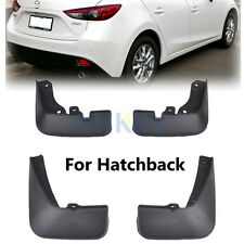 FIT FOR 2014 -2017 MAZDA 3 HATCH AXELA MUDFLAPS MUD FLAPS SPLASH GUARDS MUDGUARD