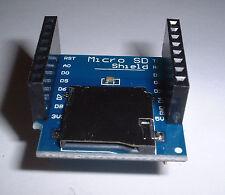 Wemos D1 MINI / PRO MICRO SD CARD READER UK STOCK