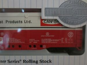Bachmann HO Scale Silver Series Evans All Door Box Car Canadian Forest #4540