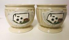NAPCO 2961 Japan Porcelain Soccer Bowls (Lot of 2)