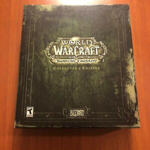 WOW World of Warcraft Burning Crusade Collectors Edition Sealed Cards READ!