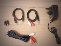 Brand New X Rocker Gaming Chairs Complete Cables Set 9V 1.5amp/Power Pack-GO104.