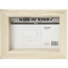 3D Photo/Picture Frame Wall Hanging Wooden Craft Decorate/Personalise Create Art