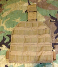 MOLLE Drop Leg Panel With Hip Extender Coyote USMC Military Surplus
