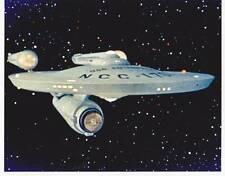 1966 STAR TREK Enterprise 8x10 color photo
