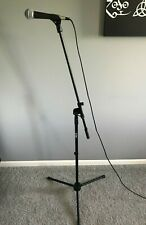 Shure SM58 Legendary Vocal Microphone (Bundled W/ Stand, Cord, & Dragon Pad)