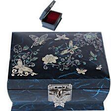 Korea Antique Jewelry Box Mother of Pearl Jewelry Box Music Jewelry Box HJML2001