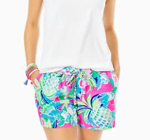 Lilly Pulitzer Katia Short Multi Raise the Bar! NEW with Tags! Size: Large