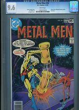 METAL MEN #56 NM 9.6 CGC WHITE PAGES LAST ISSUE APARO COVER WONDER WOMAN APP.