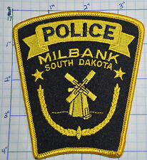 SOUTH DAKOTA, MILBANK POLICE DEPT PATCH