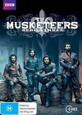The Musketeers : Series 3 (DVD, 2016, 4-Disc Set) (Region 4) Aussie Release