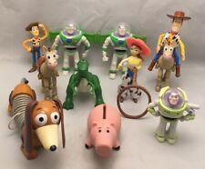 Disney Toy Story Buz Lightyear Woody Rex Slinky Dog Jessie Hamm Horse