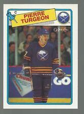 PIERRE TURGEON 1988-89 O-Pee-Chee ROOKIE #194 OPC Buffalo Sabres RC