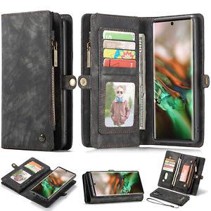 Samsung Note 20 S20 Ultra S10 S9 S8 S7e Plus CaseMe Magnetic Leather Wallet Case