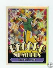 1999 Topps Chrome Record Numbers Refractors Brett Favre