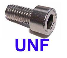 "#10-32 x 3/8"" UNF Stainless Steel Socket Capscrews UNF x20"