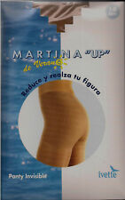 MEDIA PANTY  IVETTE REDUCTORA VERANO 10 DEN INVISIBLE T. XL NATURAL