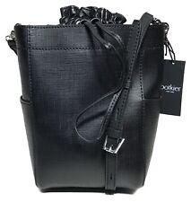 NWT Botkier Woman's Saffiano Leather Shoulder Bag, Black Color MSRP: $198.00