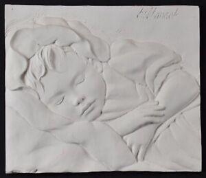 Bill Mack 'PEACEFUL' Beautiful Bonded Sand Relief Sculpture Framed Art