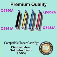 4x Q5950A Q5951A Q5952A Q5953A Toner compatible for HP 4700 4700dn 4700dtn 4700n
