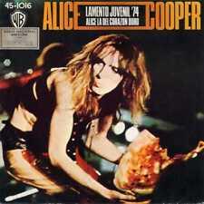 """ALICE COOPER """"TEENAGE LAMENT '74"""" ORIG SP 1974 EX/EX"""