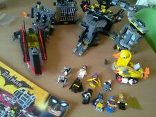 Lego Batman Movie 70909 Batcave Break In COMPLETE With Minifigures Instrctions