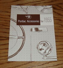 1955 Pontiac Accessories Sales Brochure 55