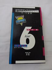 Vintage Walmart Brand VHS Tape 6 Hours T 120
