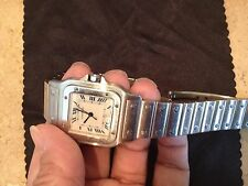 CARTIER 100% AUTHENTIC SANTOS CLASSIC MAN WATCH