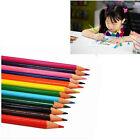 12 pcs Non-toxic Colored Drawing Pencils 12 Colors Drawing Sketching HU