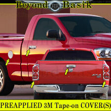 07-08 Dodge RAM 1500 Chrome Door Handle Covers W/PK+Gas+Tailgate+TailLight Bezel