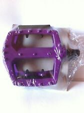 "BICYCLE PEDALS 1/2"" ALLOY PURPLE BMX CRUISER LOWRIDER!"