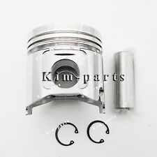 4 Sets Std Piston &Ring for John Deere 4020T 4020D, 6675 Skid Steer 4500 & 4600