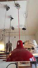 Red Stoalo Hanging Pendant Light