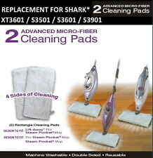 Shark Advanced Microfiber Compatible Pads (XT3601) S3501, S3550,S3601,S3901 2 PK