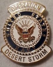 Us Navy Operation Desert Storm Pin