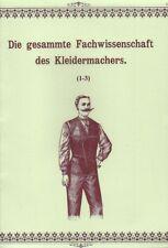 Die gesamte Fachwissenschaft des Kleidermachers ~1895 Steampunk Schnittmuster CD