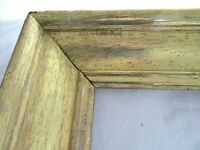 "HUGE Antique Fits 19 X 26""  Lemon Gold Gilt Picture Frame Wood Gesso Fine Art"