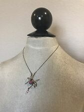 Betsey Johnson Spider Necklace