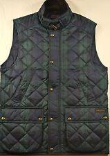 Polo Ralph Lauren Vest LT Quilted Plaid Vest/Jacket Corduroy Trim NWT $245