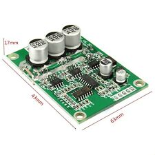 DC 12V-36V 500W Brushless Motor Controller Hall Motor Balanced Auto Driver Board